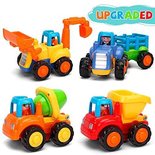 GoStock Baby Spielzeugauto Spielsachen Baufahrzeuge für Kinder 12 18 Monate,...