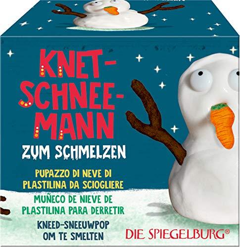 Schneemann-Knete