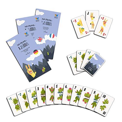 Lama-Kartenspiel