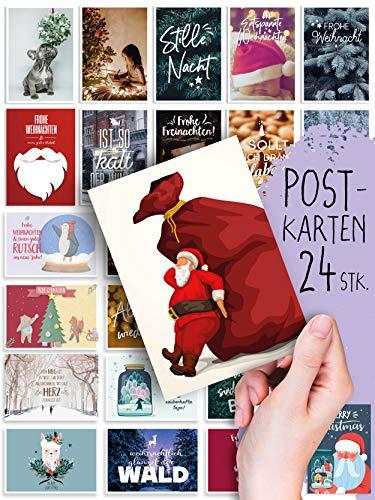 24 Postkarten