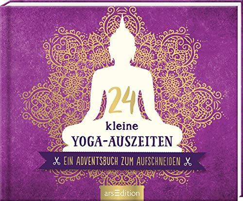Yoga-Adventsbuch zum aufscheniden