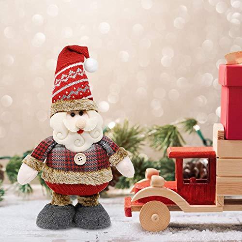 Weihnachten Santa Puppe Weihnachtsmann Ornament...
