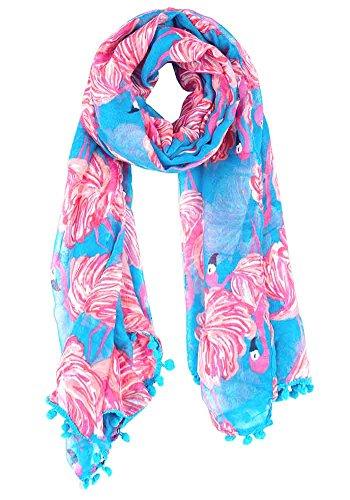 Flamingo-Schal
