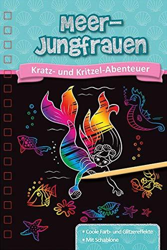 Meerjungfrau-Kritzelbuch