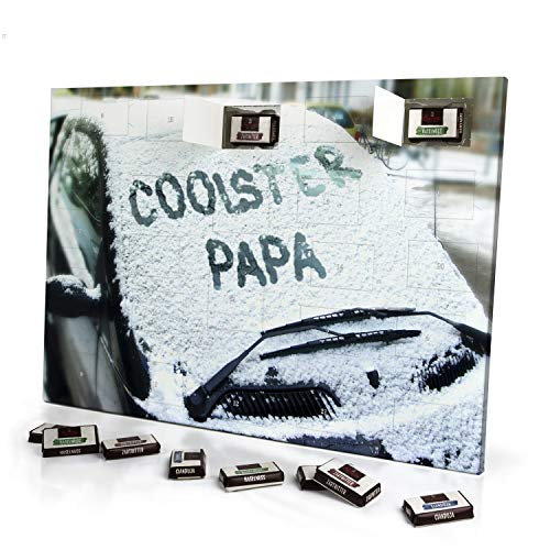 printplanet - Adventskalender mit Namen Coolster Papa -...