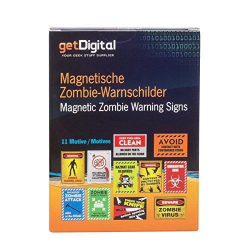 Magnetische Warnschilder