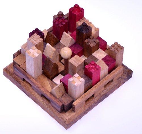3D-Burgpuzzle