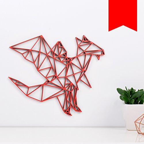 Drachen-Wanddeko