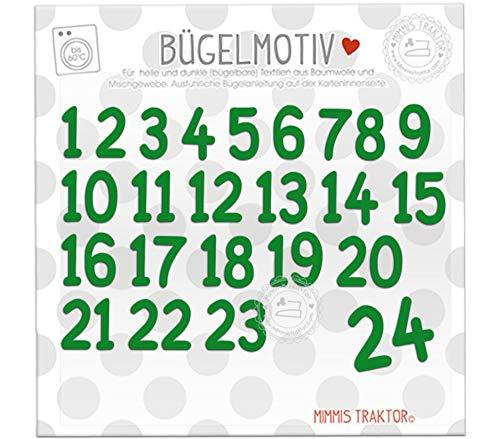 Bügelmotiv-Nummern
