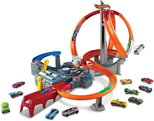 Hot Wheels Action Mega Crash Superbahn