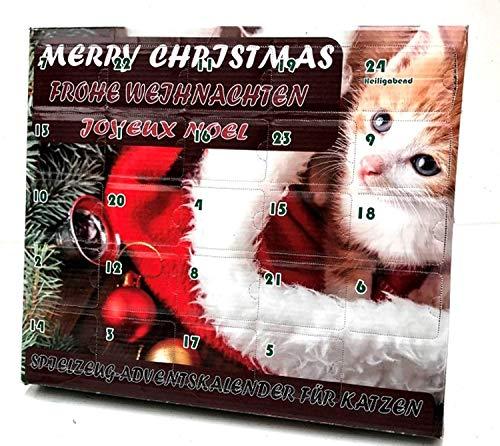 Leitner Katzenspielzeug Adventskalender für Katzen...
