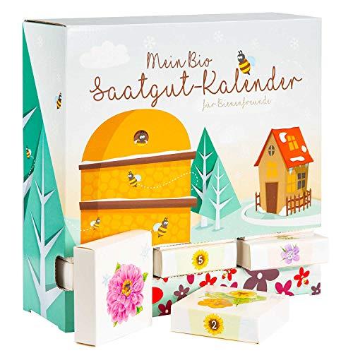 Bio Saatgut-Adventskalender Bienenfreund