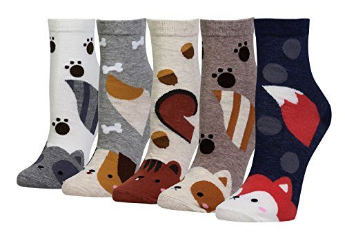 Igel-Socken im 5er-Set