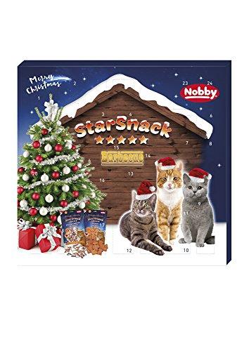 Nobby StarSnack Adventskalender Katze, 1er Pack (1 x...