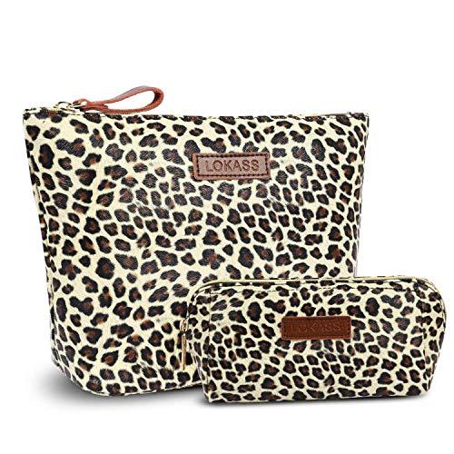 Leopardenmuster-Kosmetiktaschen