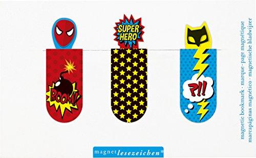 Superhelden-Lesezeichen