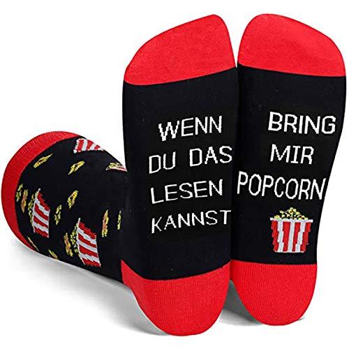 Popcorn-Socken
