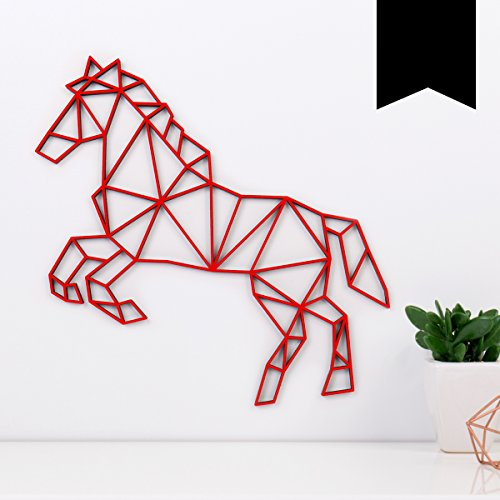 Pferde-Wanddeko
