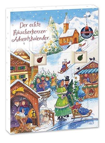 Crottendorfer Räucherkerzen-Adventskalender 2016