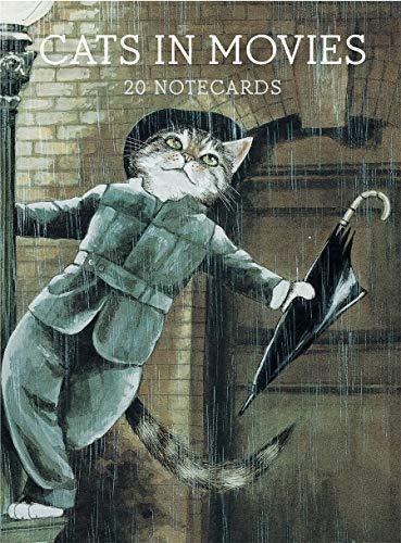 Cats in Movies-Postkarten