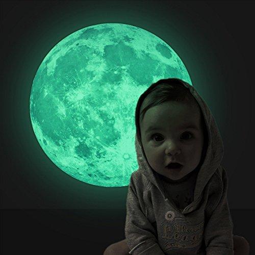 Mond-Wandsticker
