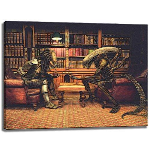 Alien vs. Predator-Wandbild