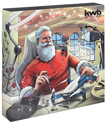 kwb 370210 Premium Adventskalender 2020 mit...