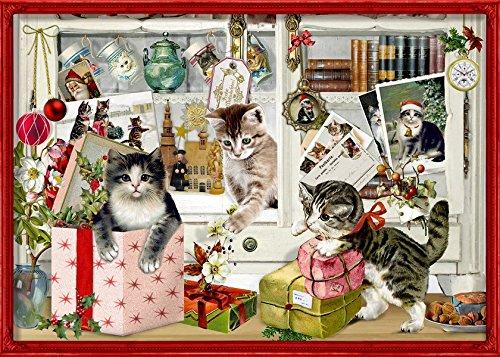 Katzen-Wandkalender