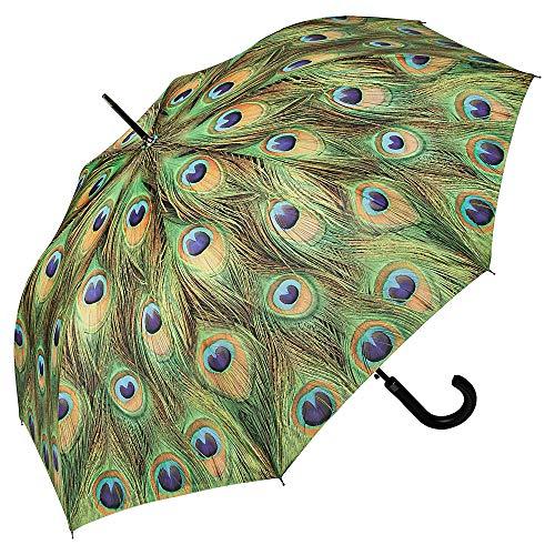 Pfauenfeder-Regenschirm