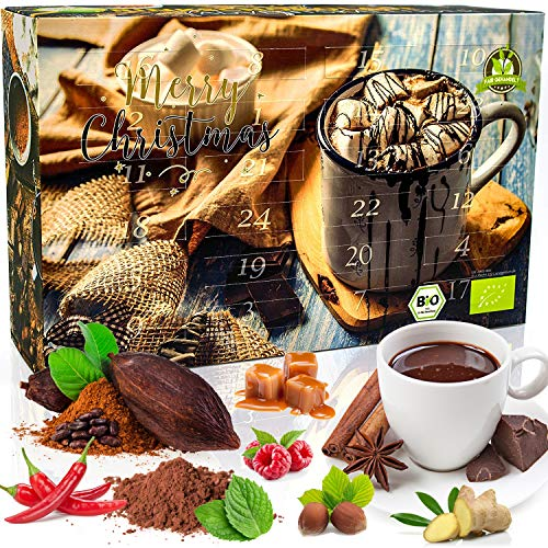 Bio-Trinkschokolade-Adventskalender
