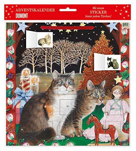 Katzensticker-Adventskalender