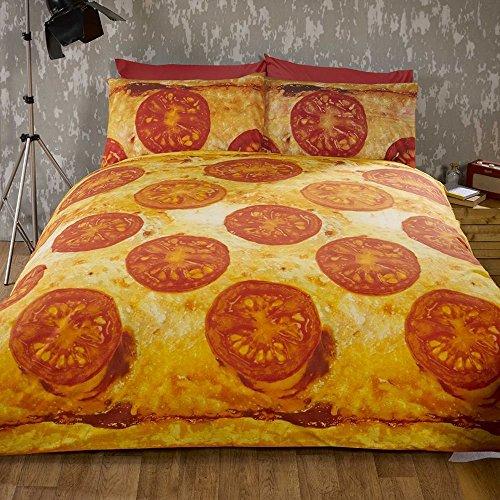Pizza-Bettwäsche