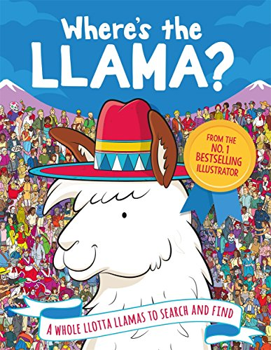Lama-Wimmelbuch