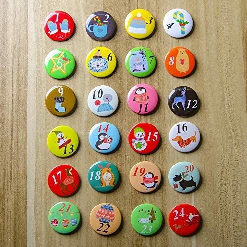 Buttons mit Illustrationen
