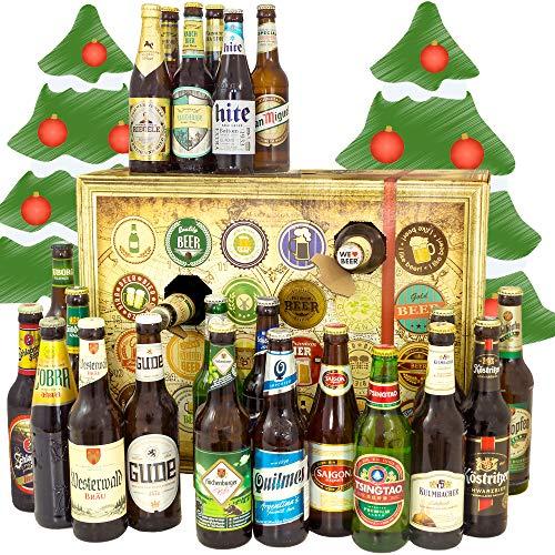 Bierweihnachtskalender aus aller Welt