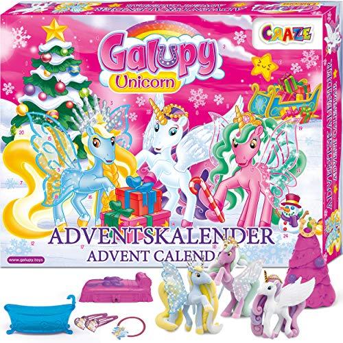 Galupy Spielzeugkalender Einhorn