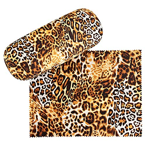 Leopardenmuster-Brillenetui