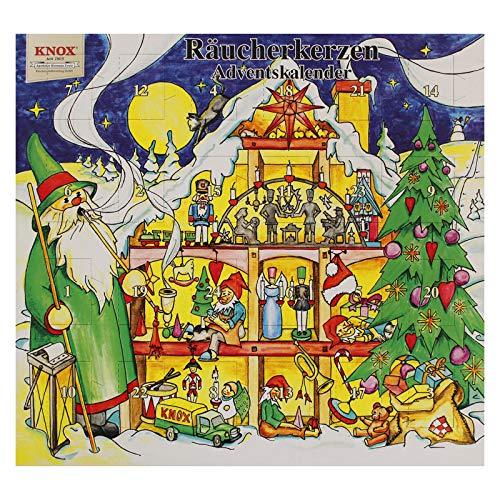 Knox Räucherkerzen Adventskalender 'Weihnachtshaus '