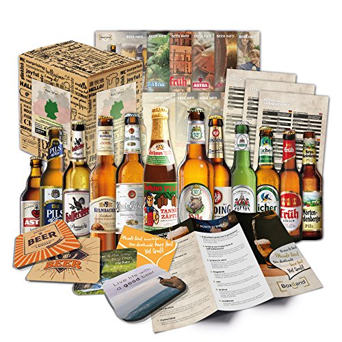 Deutsche Biere im Geschenkset