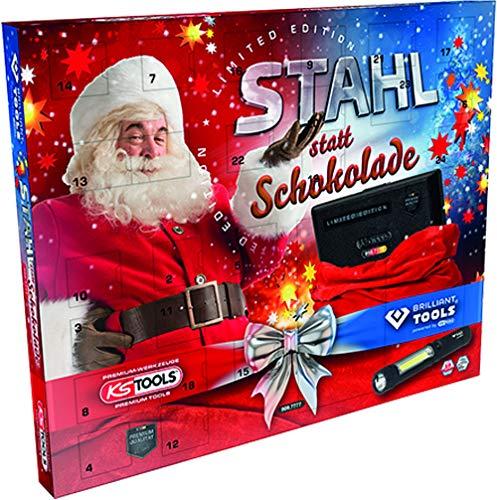 KS Tools 999.7777 Adventskalender Stahl statt...