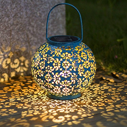 Florales Solarlicht