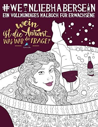 Weinliebhaber-Malbuch